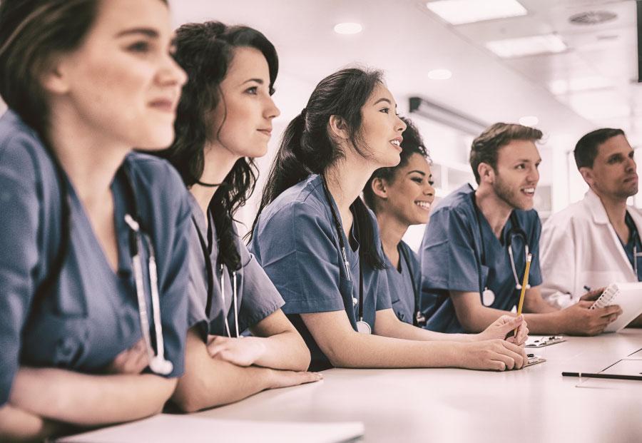 stagiaire des professions médicales