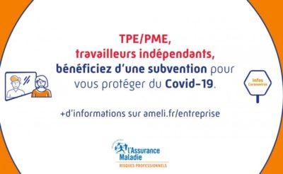 subvention prévention COVID